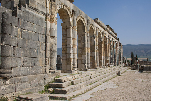 Ruínas romanas - Volubilis