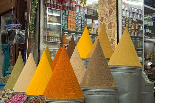 Especiarias - mercado - Marrakech