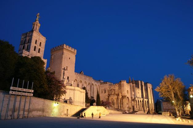 Palácio dos Papas - Avignon - Provença