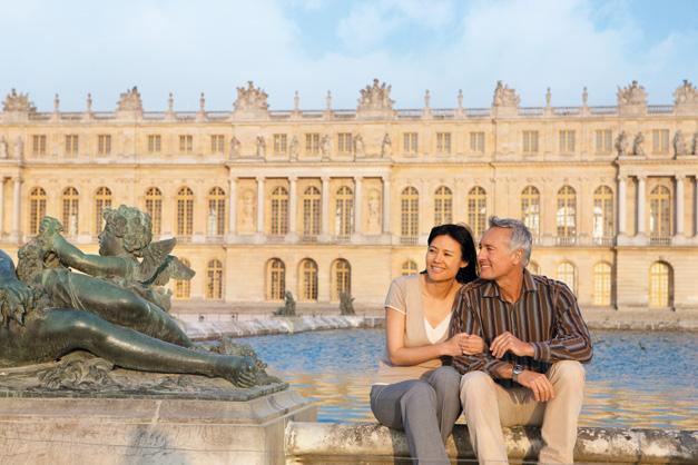 Palácio de Versailles - (extensão a Paris)