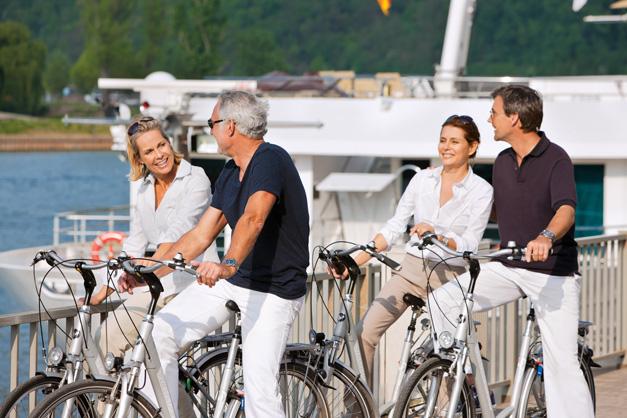 S.S. Antoinette - Bicicletas disponíveis aos passageiros