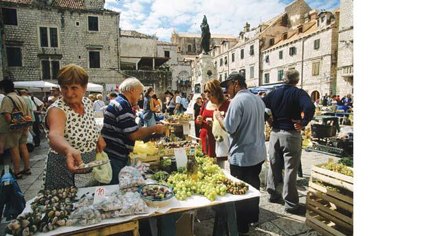 Feira em Dubrovnik
