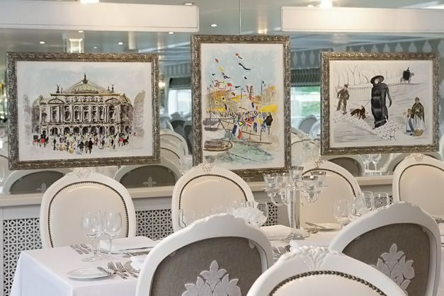 River Beatrice: Restaurante