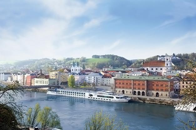 Passau: Cruzeiro fluvial - Danúbio - River Beatrice