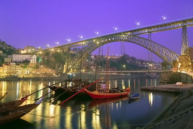 Cruzeiro Fluvial: Cidade do Porto - rio Douro