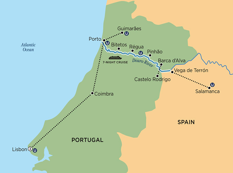 mapa do douro portugal Mapa Portugal Douro | thujamassages mapa do douro portugal